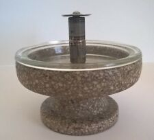 Antique/Vintage Very Rare Bradley Wash Fountain Co Terrazzo Table Lighter