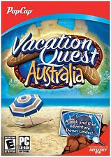Vacation Quest: Australia - PC Hidden Object Puzzle Game - New