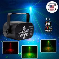 240 Patterns Projector LED RGB Laser Stage Light DJ Disco KTV Home Light Party