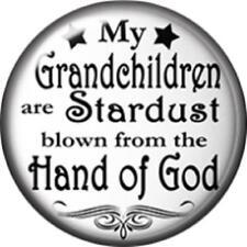 Snap button Grandchildren Stardust  Hand of God charm  Jewelry 18mm