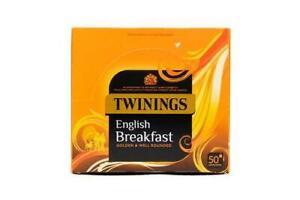 Twinings English Breakfat 50 Enveloped Tea Bags
