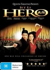 Hero DVD JET LI Quentin Tarantino BRAND NEW R4