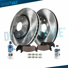 Ford Taurus Mercury Sable Lincoln Continental Front Brakes Rotors + Ceramic Pads