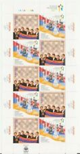 ARMENIA 2008 2009 CHESS OLYMPIAD CHAMPION GERMANY COMBO SHEET MNH R18336