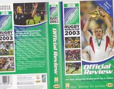 RUGBY UNION OFFICAL REVIEW 2003 VIDEO VHS PAL~ A RARE FIND
