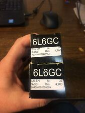 New Matched Pair Electro-Harmonix 6L6EH / 6L6GC Vacuum Tubes