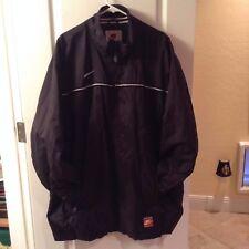 NIKE  Coat, Winter Jacket Coat , Black white LOGO swoosh sz XL
