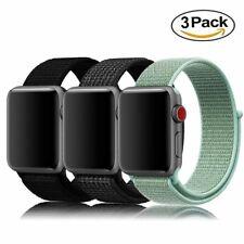 Apple Watch Sport Loop Bands 3 Pack AMBAND Series 1/2/3/Sport/Nike+ 42mm NEW