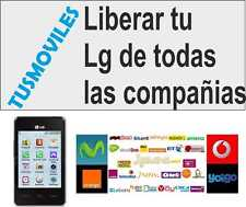 Liberar LG E460 E610V G3 G2 mini G3s LG G Flex LG E400 LG LGMS323 LG Nexus 4 L9