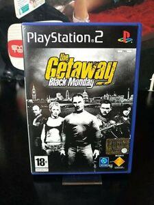 The GETAWAY : black monday PS2 ITA COMPLETO << mappa inclusa >>