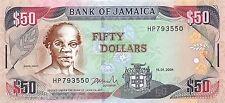Jamaica 50 Dollars 2004 Unc pn 79e