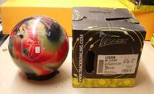 14# 2oz, TW 3, Pin 2-3 Track 2015  LEGION Bowling Ball Red/Black/Yellow