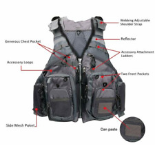 Amarine Made Fly Fishing Vest Pack (Fishing Vest/Fishing Sling/Fishing Backpack)