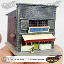 1/150 N scale TOMYTEC TOMIX Diorama drugstore #A04
