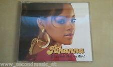 MAXI CD---RIHANNA--IF IT'S LOVIN THAT YOU WANT----PROMO-2  TRACKS