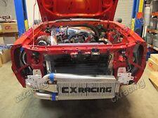 Single Turbo FMIC Intercooler Kit w/BOV For 79-93 Fox Body Ford Mustang V8 5.0