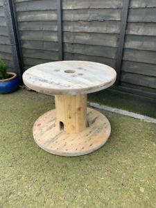 Wooden cable drum reel Used