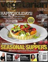Vegetarian Living Magazine Christmas Holiday Recipes Seasonal Suppers Marmalade