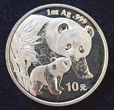 10 Yuan 2004 China Panda 1 Unze Feinsilber