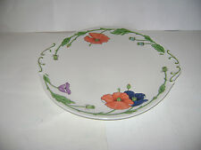 "Villeroy & Boch AMAPOLA Handled 12"" Cake Dish Serving Piece Plate GERMANY RARE"