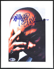 SIGNED AUTOGRAPHED MC GURU GANG STARR PHOTO PHOTOGRAPH BECKETT BAS VERY RARE!!