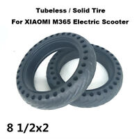 XIAOMI M365 Scooter Solid Tire Tubeless Inflation Free Tyre for MIJIA Scooter