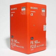 Sony FE 90mm F2.8 Macro G OSS Lens SEL90M28G