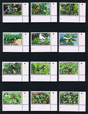 Tonga 2013 Birds Issues - OFFICIAL Overprinted Postage Stamp Issues
