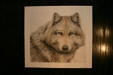 Straight From The Heart Jan Bain Signed & Numbered Limited Edition Wolf