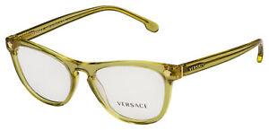 Versace Eyeglasses VE 3260 5271 51 Transparent Brown Frame[51-17-140]