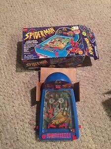Vintage Marvel Comics Spider Man Electric Pinball Game