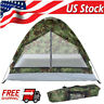 TOMSHOO Camping Tent for 2Person Single Layer Outdoor Hiking Portable Camouflage