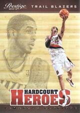 2012 13 Prestige Hardcourt Heroes #12 LaMarcus Aldridge Trail Blazers NM Insert