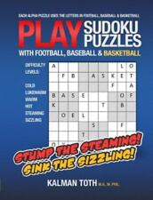 New listing Play Sudoku Puzzles With Football, Baseball & Basketball, Paperback by Toth, ...