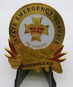 Queensland SES State Emergency Service Badge