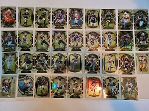 2020 Panini Select Football Rookie Cards, ALL DIFFERENT LOT 0F 35 PRICED TO SELL