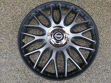 4 Alu-Design Radkappen 16 Zoll Orden black matt für Nissan