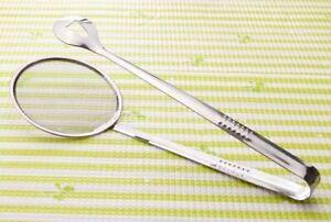 Smart Strainer Spoon Kitchen Easy Oil Scoop Handy Filter Net Tool Kitchen Gadget