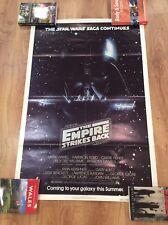 STAR WARS THE EMPIRE STRIKES BACK Original ADVANCED Movie Poster DARTH VADER