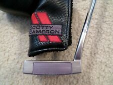 MINT SCOTTY CAMERON SELECT NEWPORT 3 PUTTER - RED DOTS REMOVED -  WITH HC - 35""