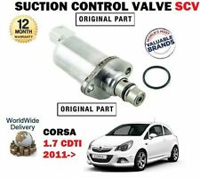 pour Opel Corsa 1.7 CDTI 2011- > Ventouse contrôle SOUPAPE SCV 819153 819172