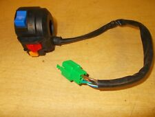 """Scooter Moped Control Switch 3/4"""" LH Left Engine Stop Off Run Start"""