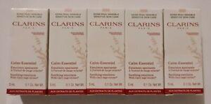 5 x Clarins Calm-Essentiel Soothing Emulsion 5ml each - 25ml total