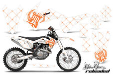 AMR Racing KTM C9 SXF XCF EXC Graphic Number Plate Kit Bike Decal MX 13-15 SSR O