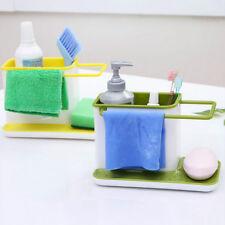 Green Kitchen Washing Holder Brush Sponge Sink Draining Towel Rack Kitchen tidy