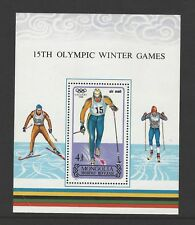 Mongolia Scott # C188 Winter Olympics S/S Mnh