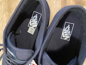 Vans Era Navy Blue Skate Shoes 11.5 Mens