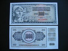 YUGOSLAVIA  1000 Dinara 1974  (P86)  UNC