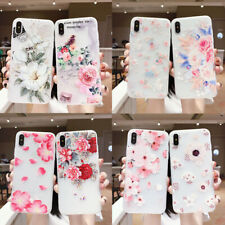Hot New Fashion Women Girl Frosted Flower Silicone Phone Case Cover  For Samsung