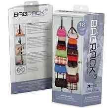 NEW! Perfect Curve Bag Rack - 18 Bag Hanging Storage, Handbags, Tote Bag, Purses